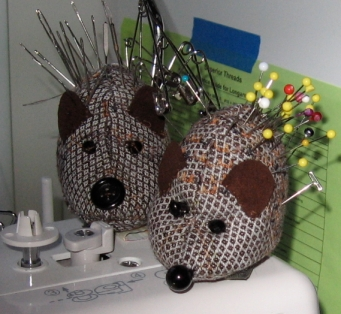 Hedge Hog Pin Cushions