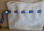 Thee Dee I - lined pouch knit with alpaca sport yarn