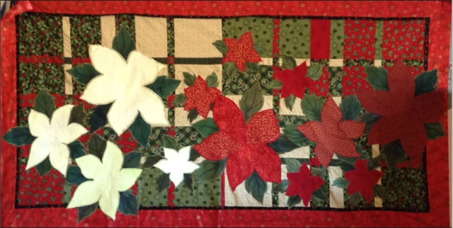 poinsettiaapplique