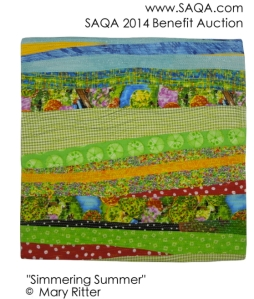 purchased at SAQA online Benefit Auction for the Hendricks Collection