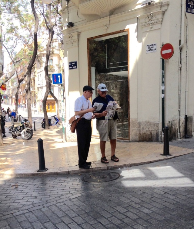 The Map Readers 2015-4-23 Valencia, Spain
