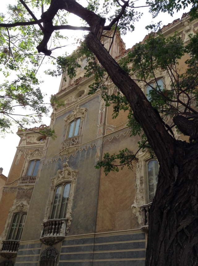 2015-4-23 Marques de Dos Aguas Palace, Valencia, Spain taken with my iPad