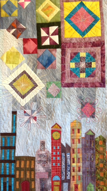 Gypsy Fire Quilting Progress2