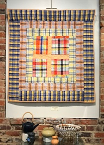 Cape Fear Moments in Time Show-Circles and Plaids-Sandy Teepen