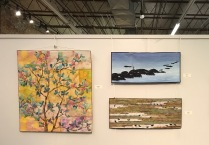 Cape Fear Moments in Time Show-HarmonyVI-Ericka Carter; Lobster Buoy & Well House Jenny Williams