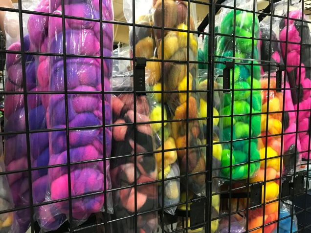 Colorful Roving displays