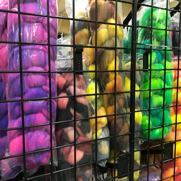 Colorful Roving displays