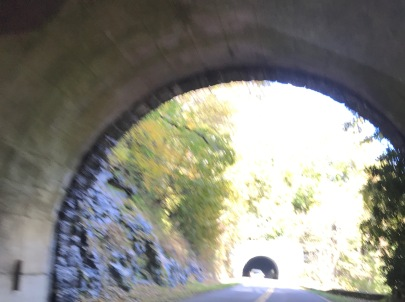 From one tunnel into another - Twin Tunnels