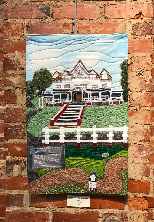 Cape Fear Moments in Time Show-Moses Cone Flattop Manor